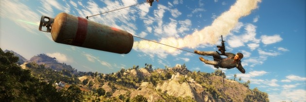 So What's Actually Going On In Just Cause 3 Besides Explosions?