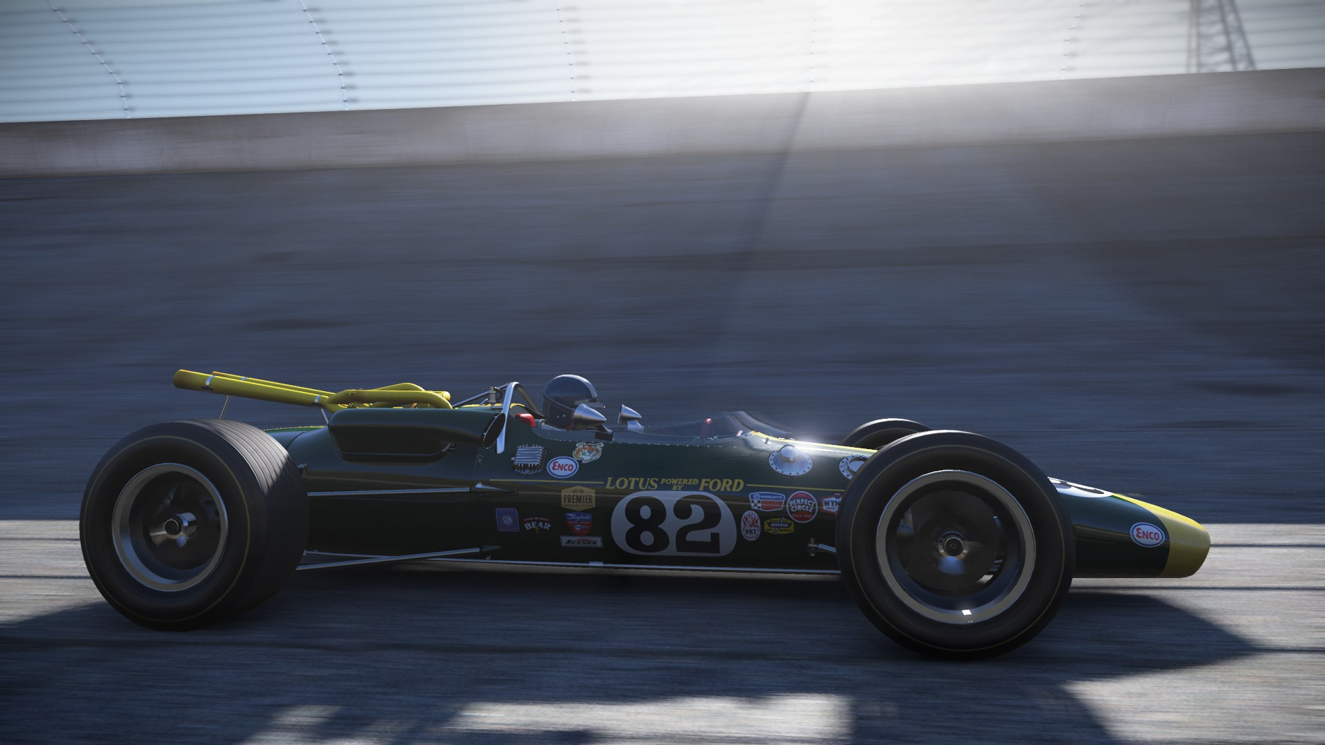 Project CARS' Classic Lotus Track DLC Out Now