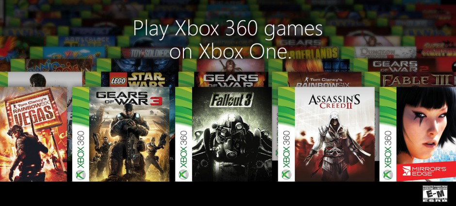 Here's the full, official list of backwards compatible 360 games