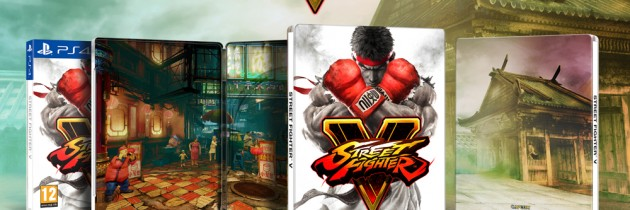 Street Fighter V Getting A Day One Steelbook Edition