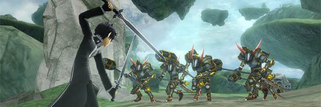 Sword Art Online: Lost Song Now Available For PS4 and Vita