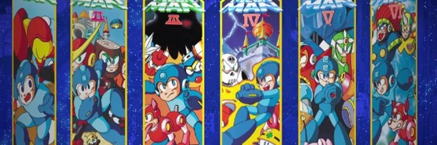 Mega Man Legacy Collection Rushes To The 3DS Next February