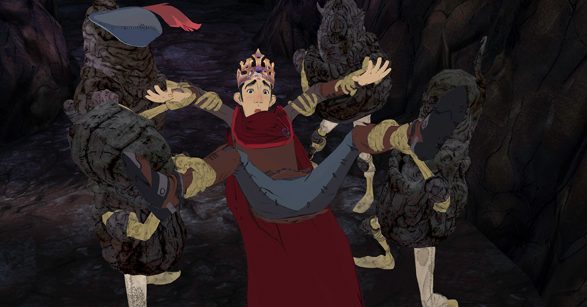 Next chapter of King's Quest- Rubble Without a Cause- Releases