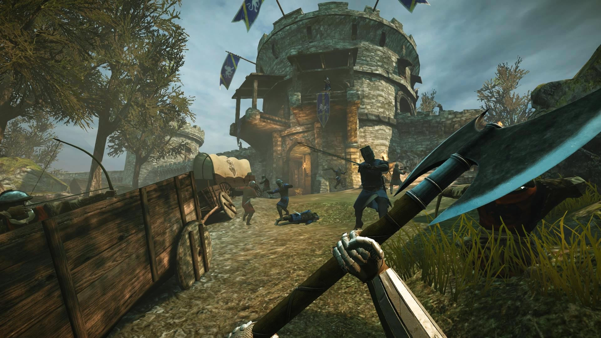 Chivalry: Medieval Warfare Out Now On Current Gen Consoles