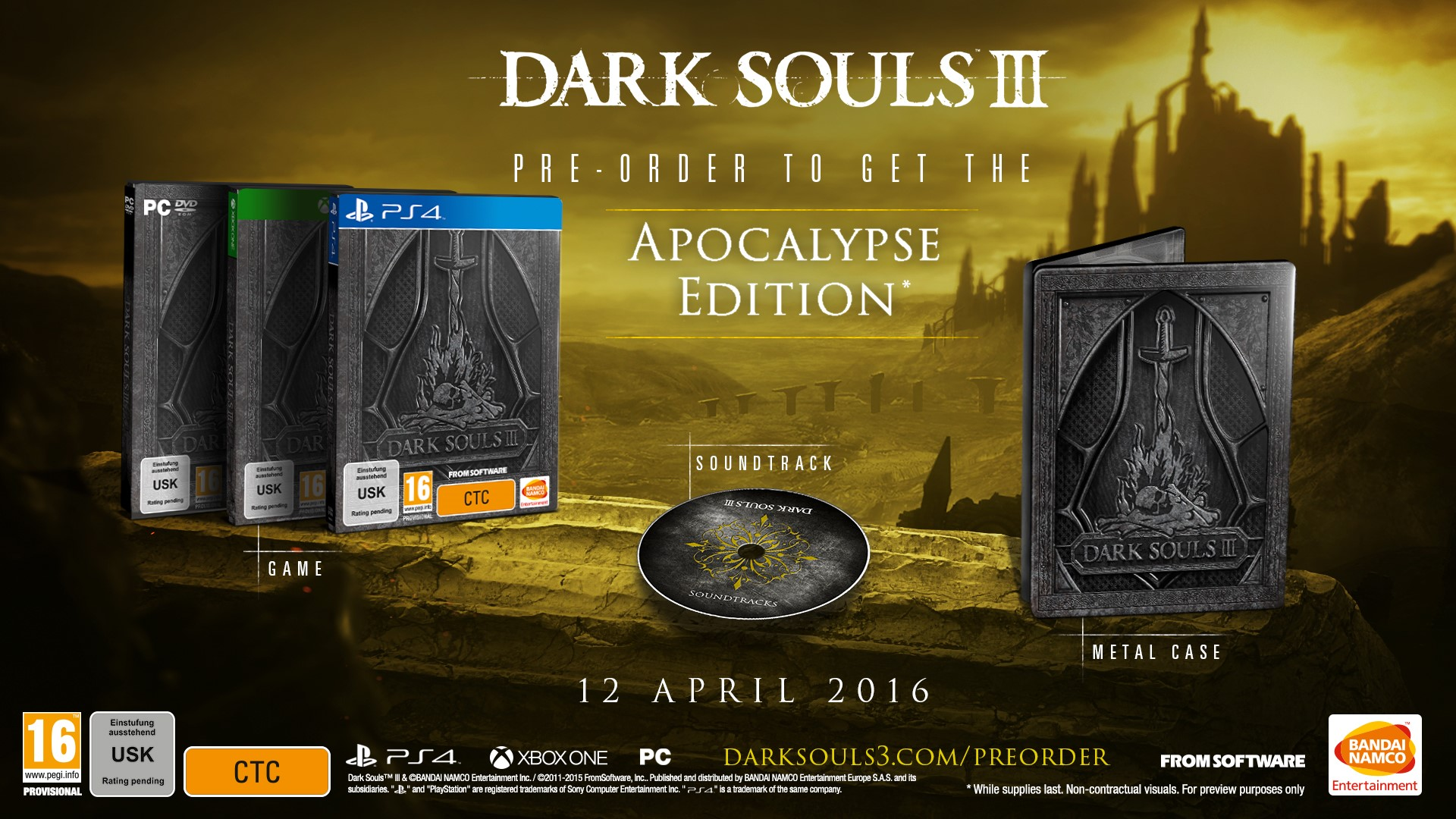 Dark Souls III Collector's Edition Detailed
