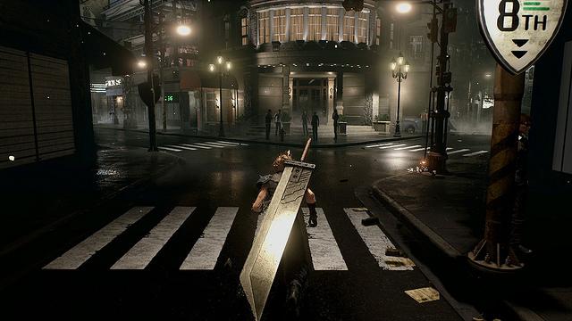 Final Fantasty VII Remake Gameplay Teased At PSX 2015