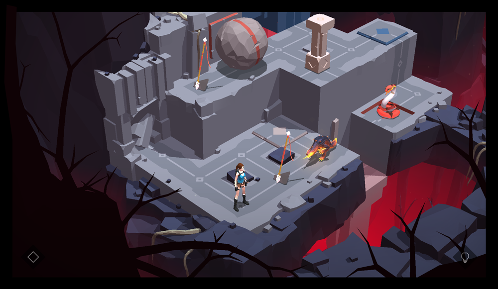 Lara Craft Go Named App Store's 2015 Game Of The Year