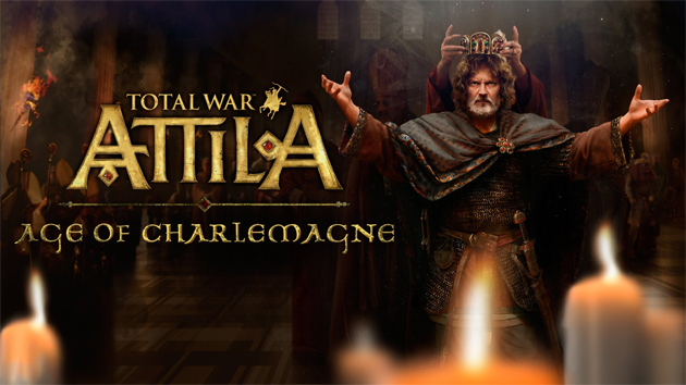 Story Of Charlemagne Featured In Total War: Attila