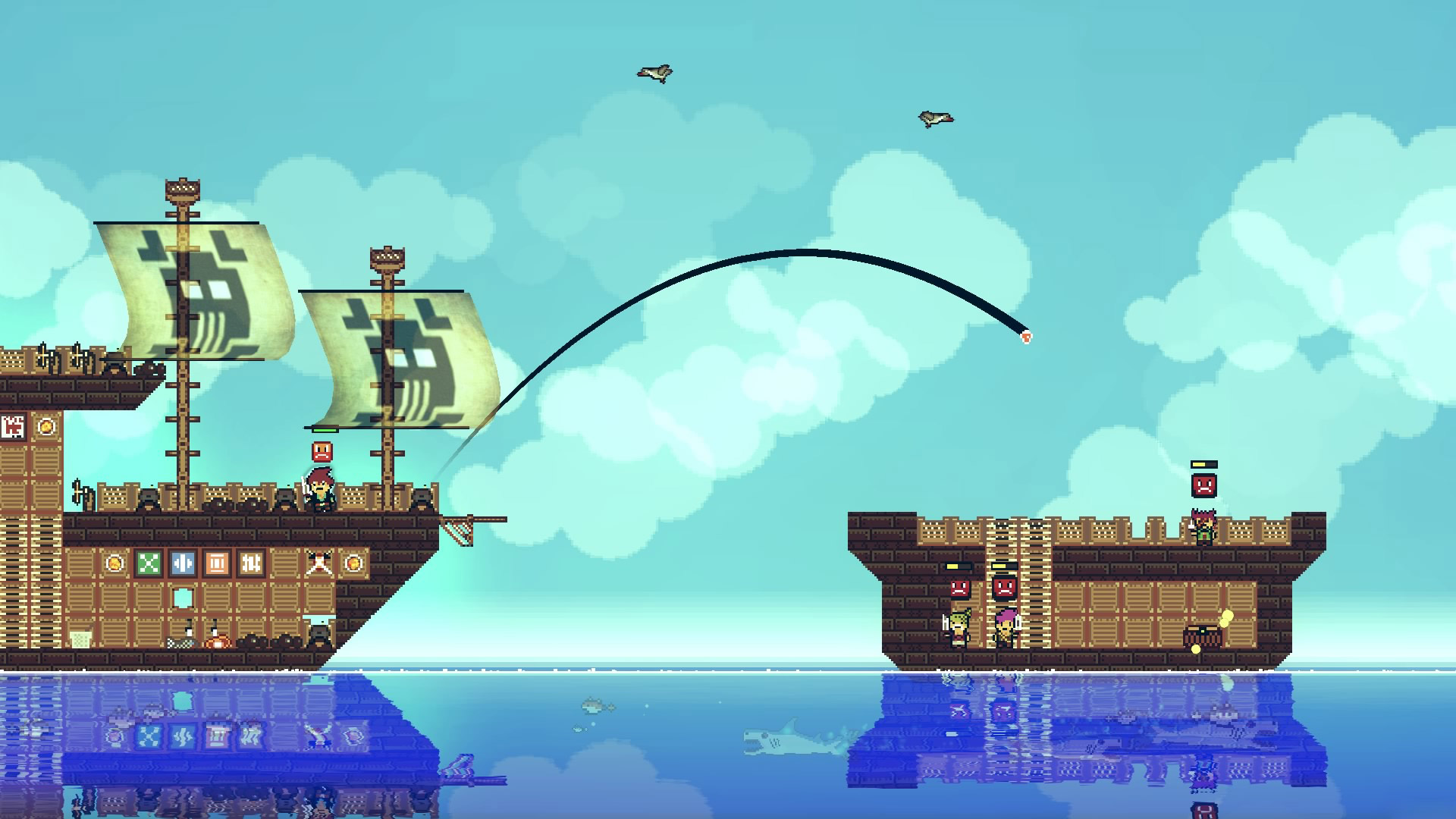 Avast! Pixel Piracy be Boarding Xbox One and PS4!