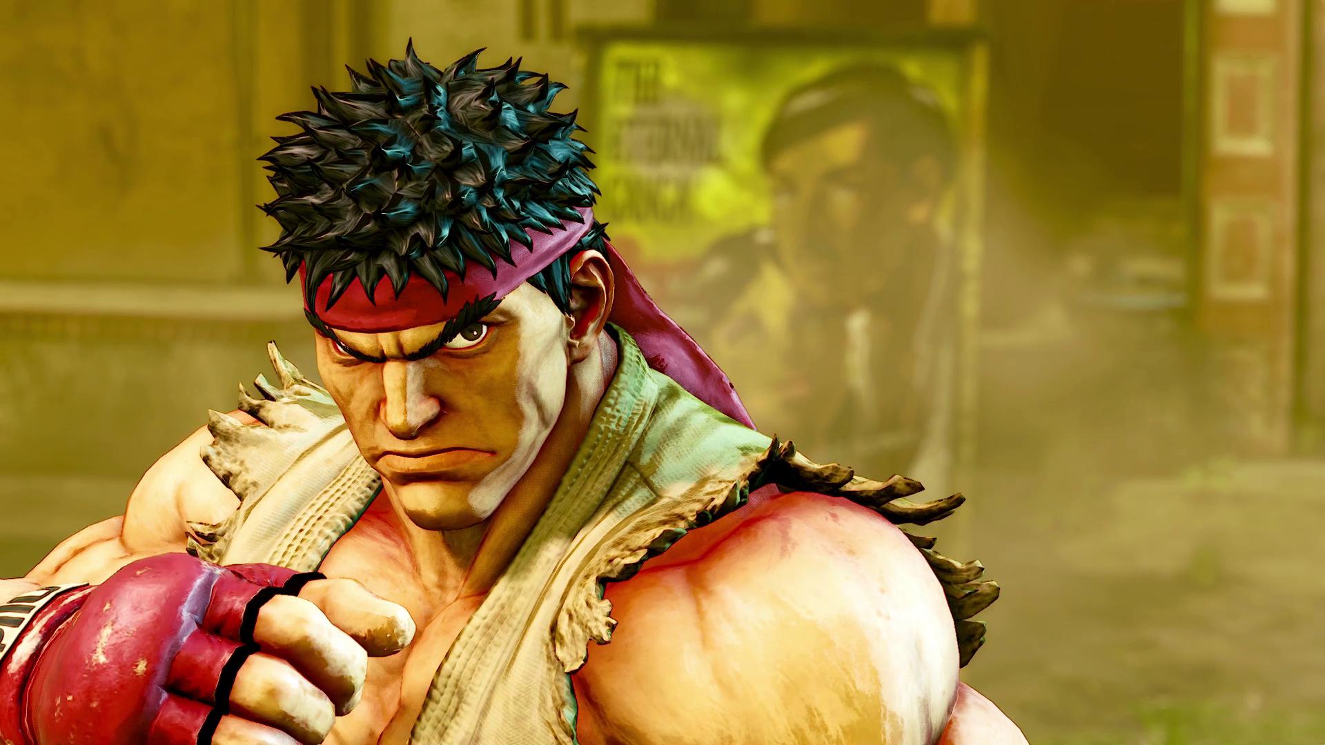 New Street Fighter V Story Details
