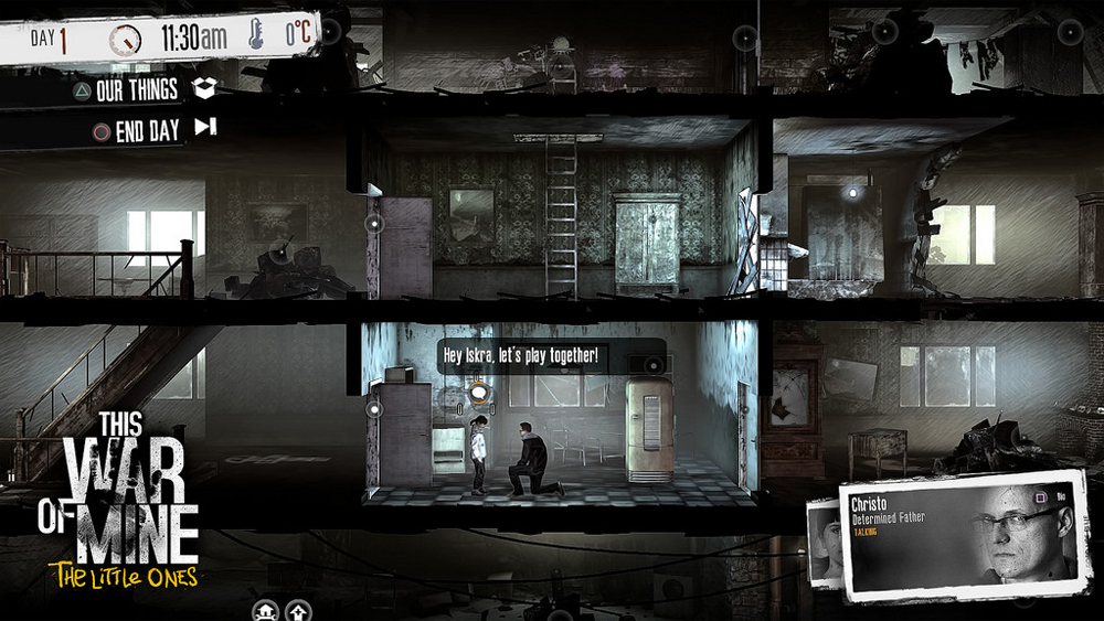 This War Of Mine: The Little Ones Now Available For Current Gen-Consoles