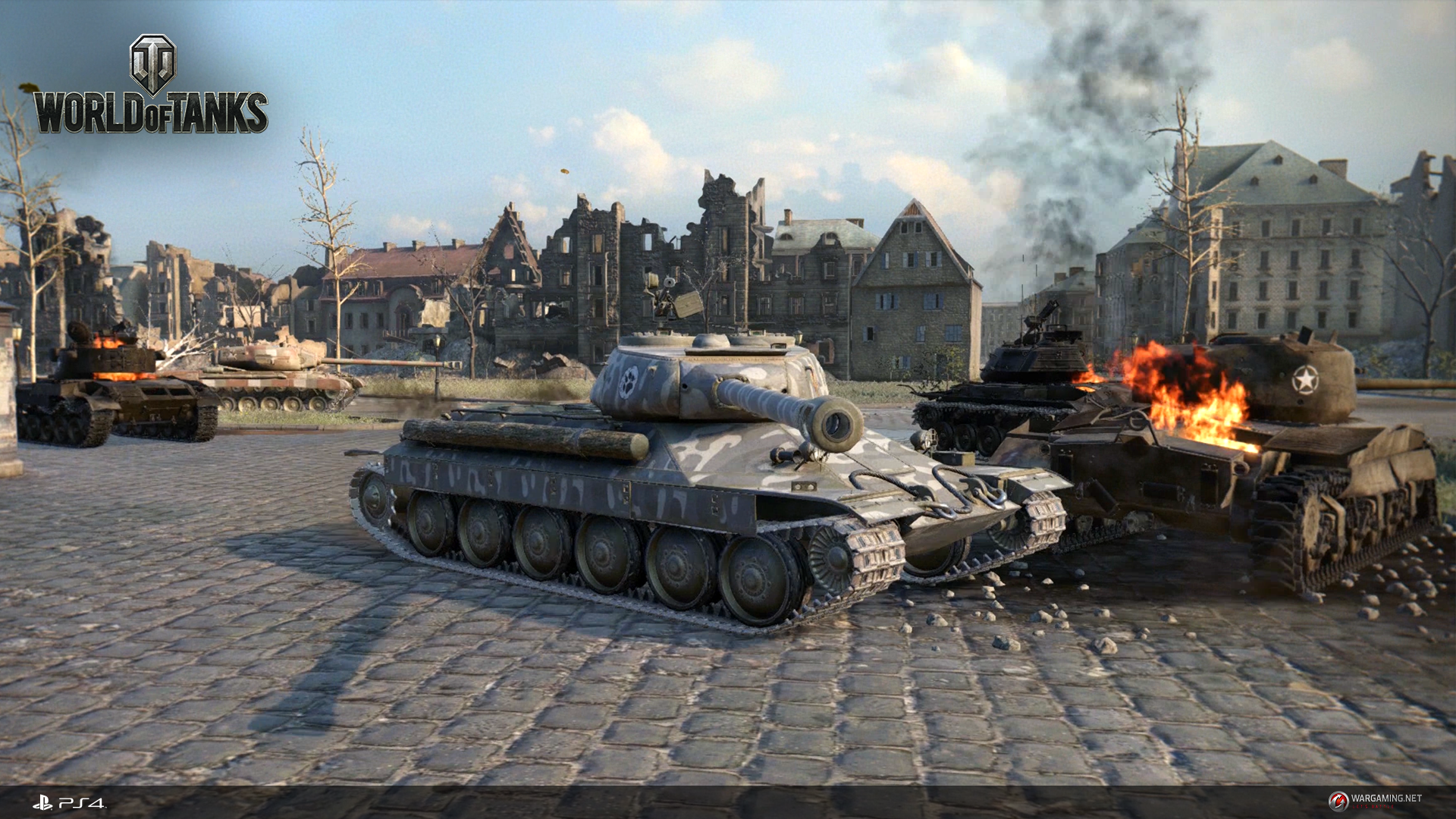 Second PS4 Beta For World Of Tanks Rolls Out This Weekend