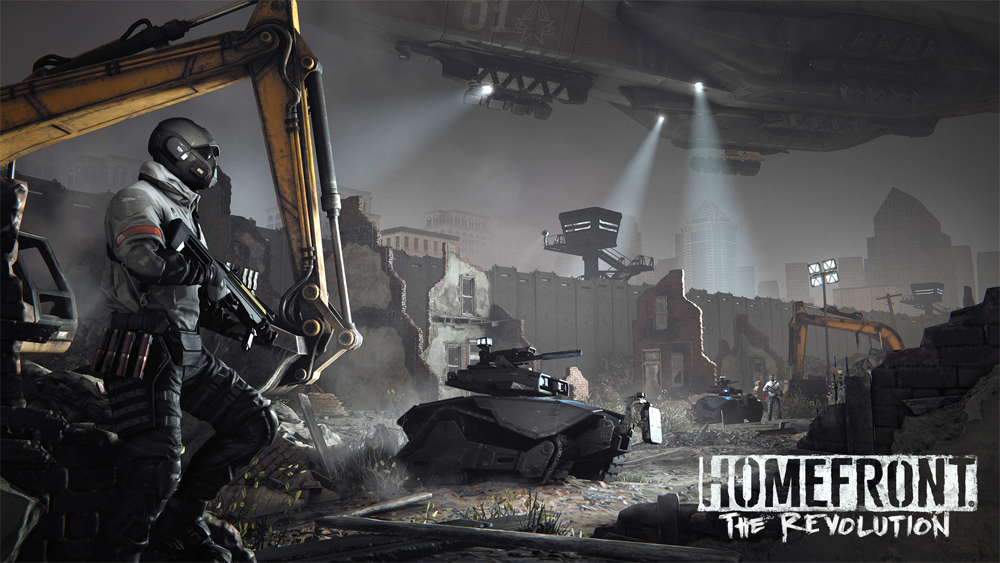 Homefront: The Revolution Goliath Edition Announced