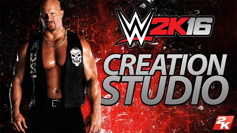 WWE 2K16 Creation Studio App Available For Mobile Devices