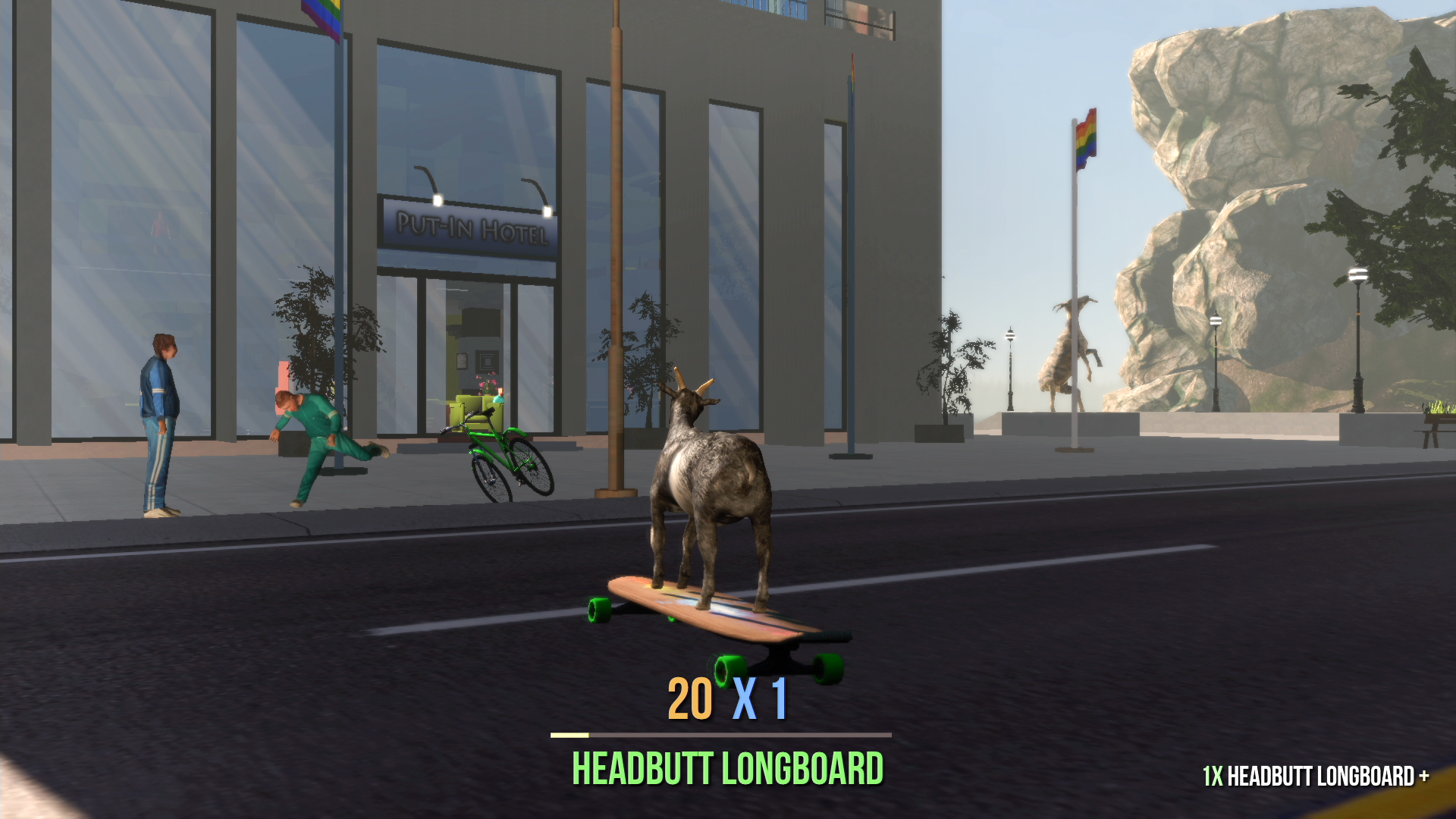 Goat Simulator Leaps To Retail For Xbox One