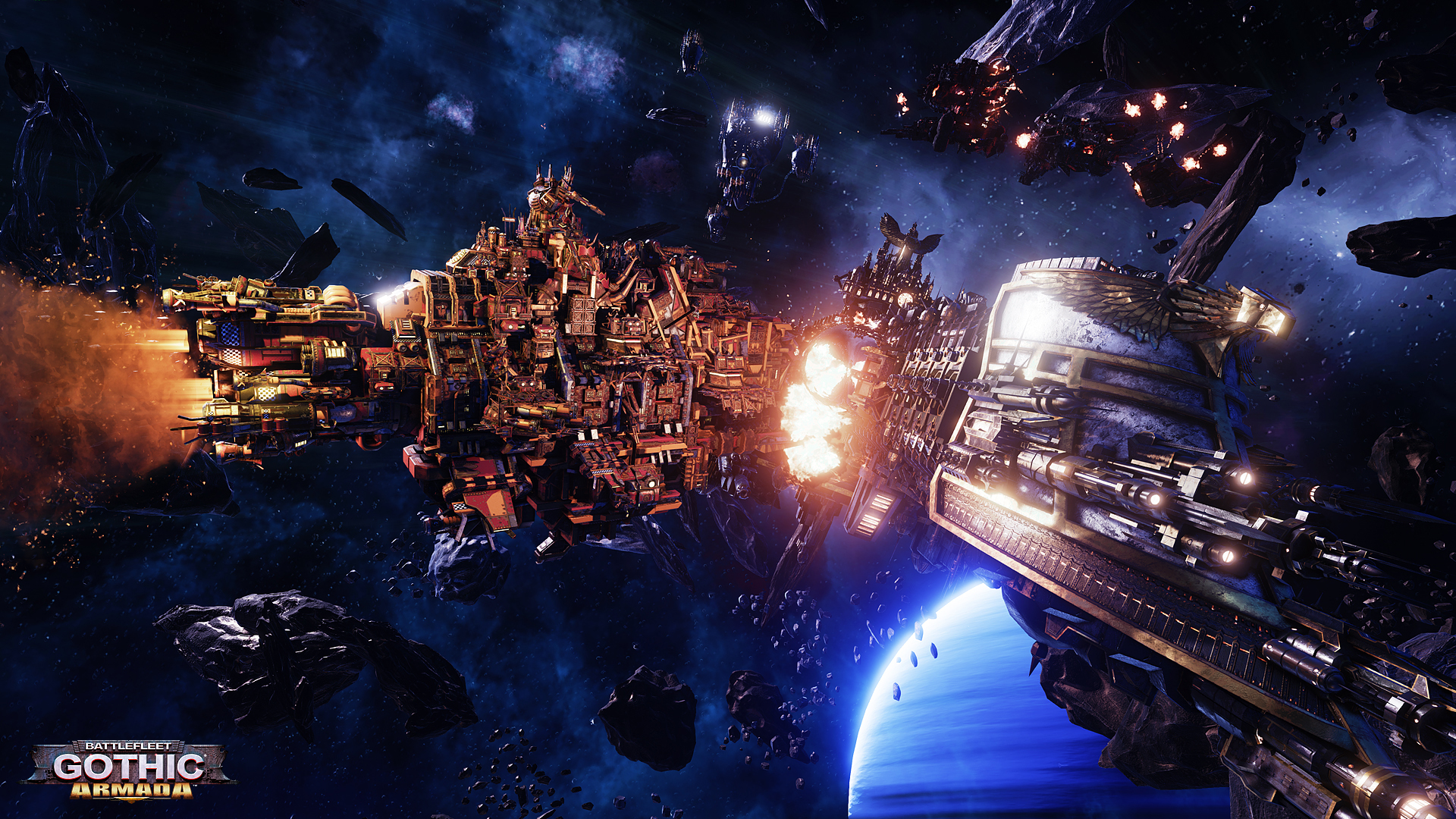 Check Out a New Battlefleet Gothic: Armada Gameplay Video