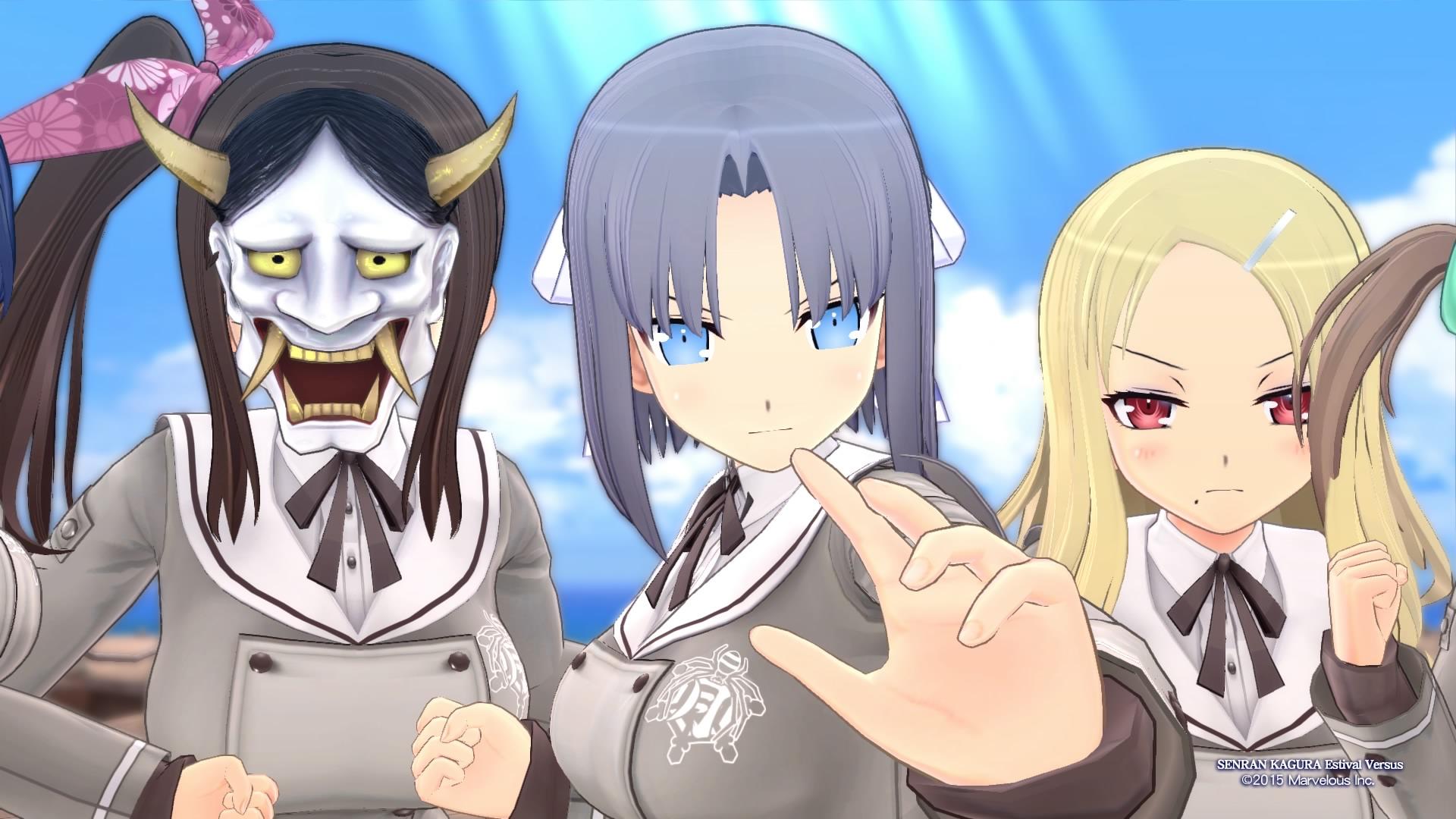 New Senran Kagura Game Coming Next Month