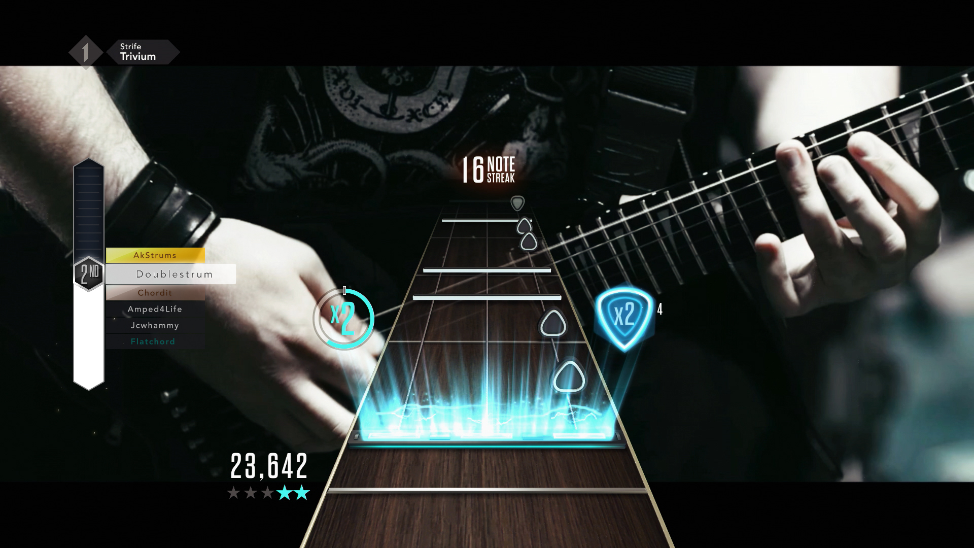 Through the Fire and Flames Debuts In Guitar Hero Live