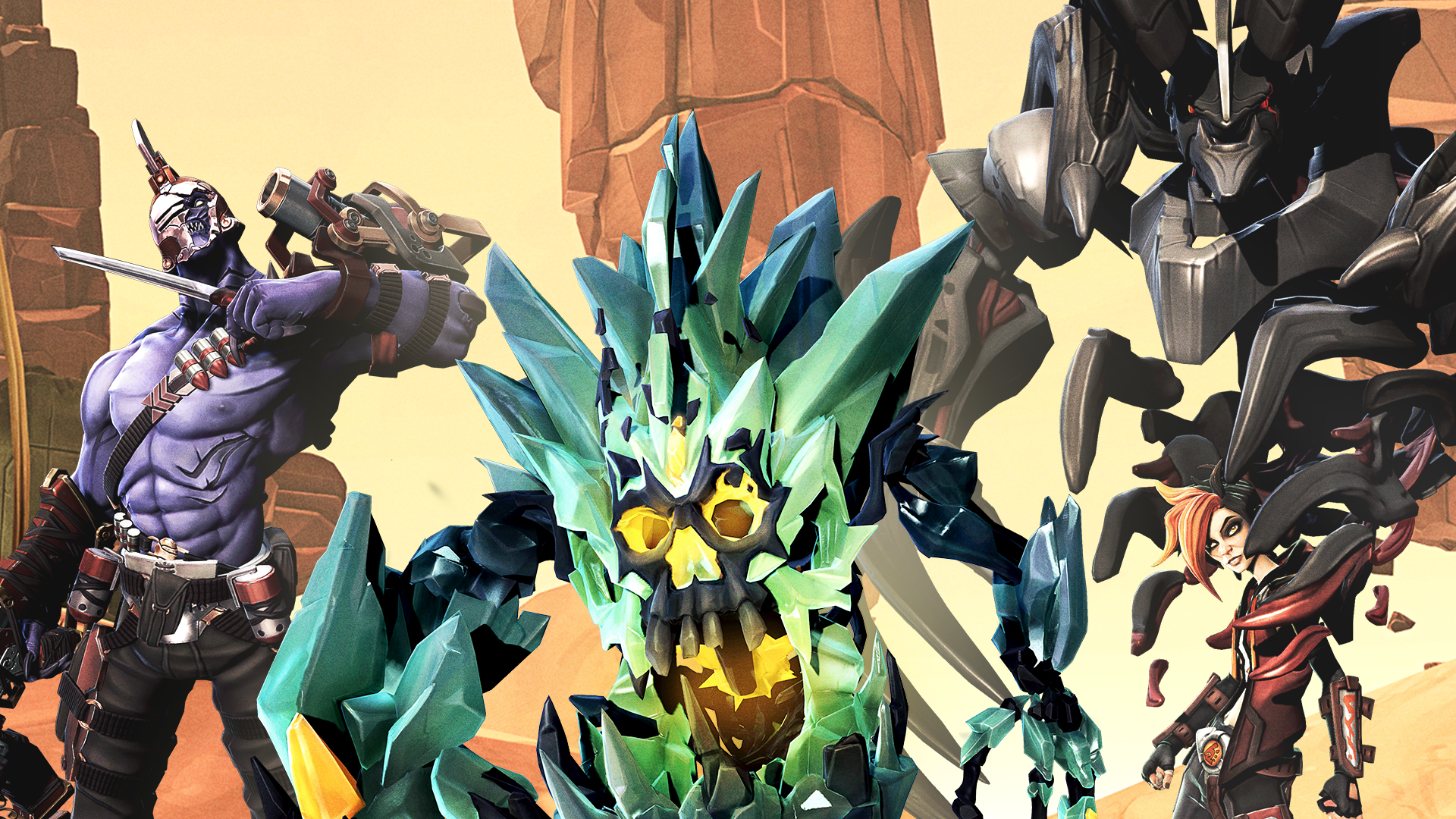 Three New Heroes for Battleborn