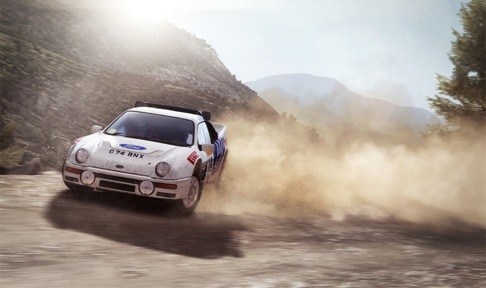 DiRT Rally Console Version Detailed