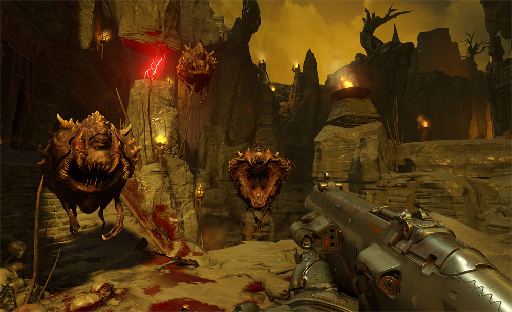 Splatter Some Guts Next May With Doom