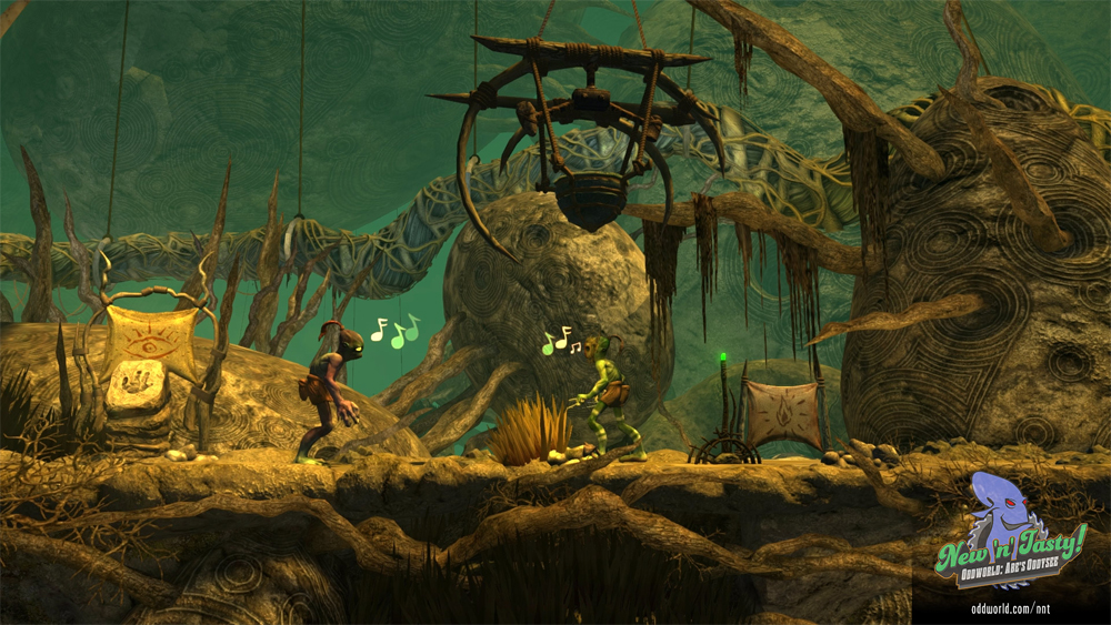 OddWorld New 'N' Tasty Now Available On Wii U