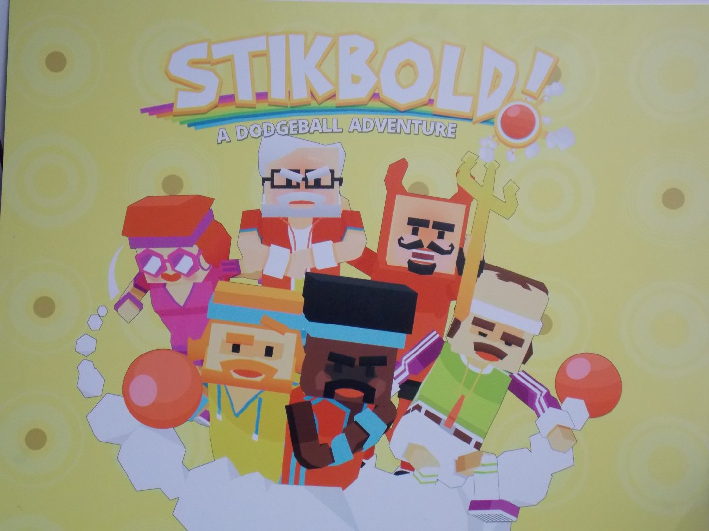 Going Hands On With Stikbold: A Dodgeball Adventure