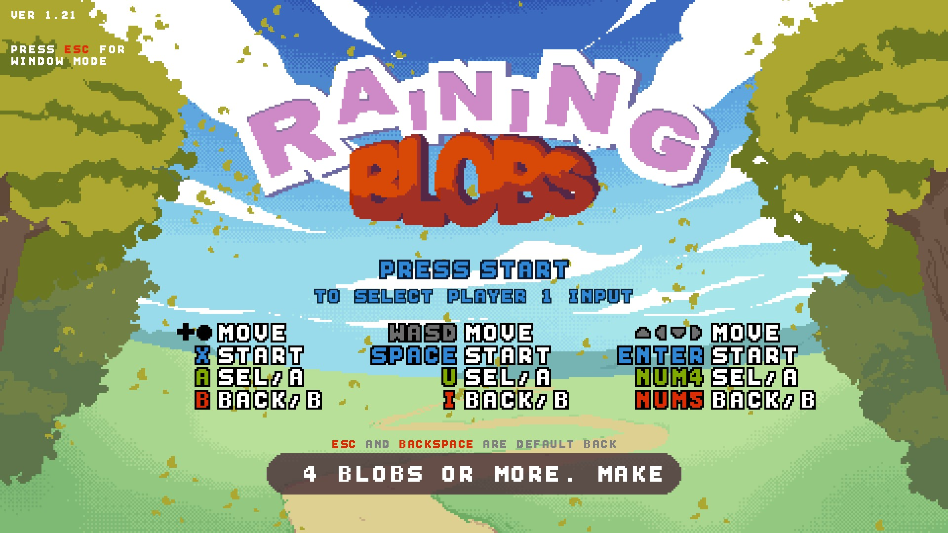 Review: Raining Blobs