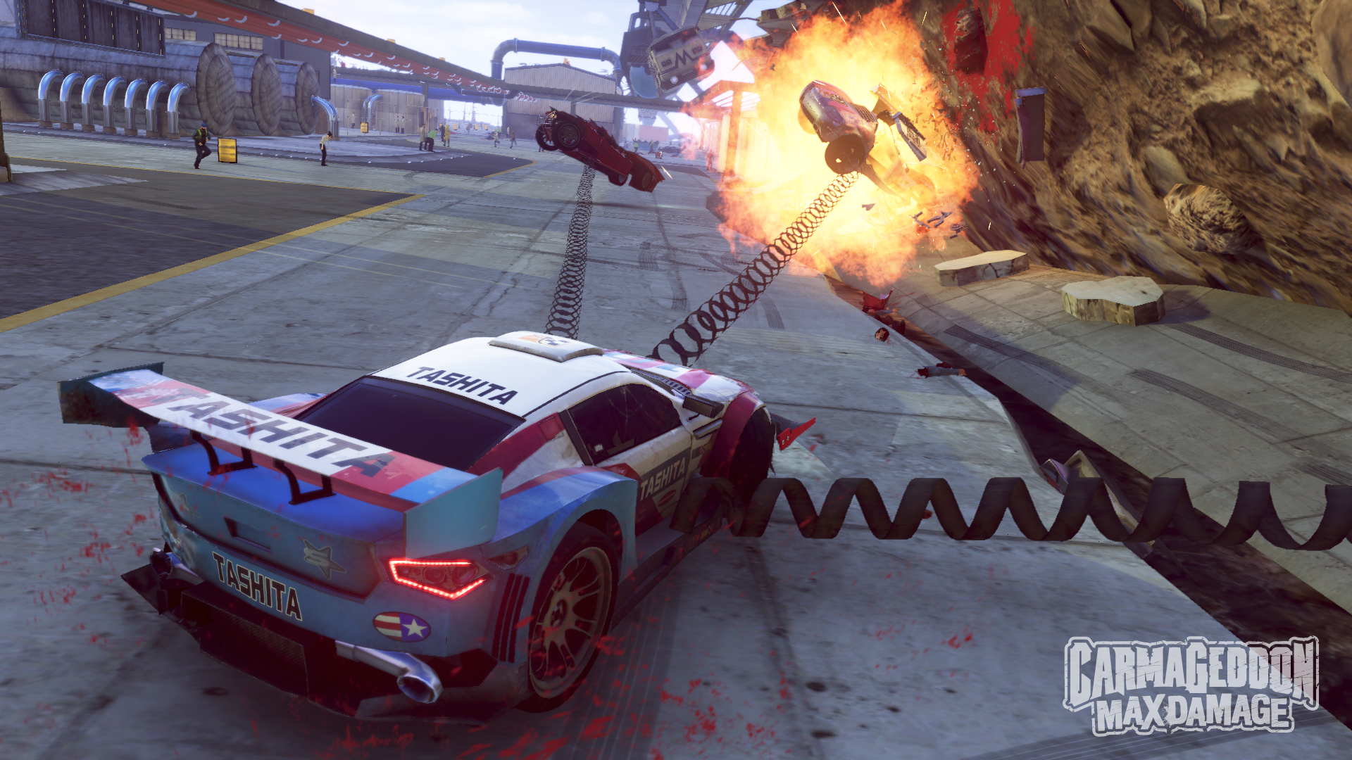 Carmageddon: Max Damage Crashes To Stores This Summer