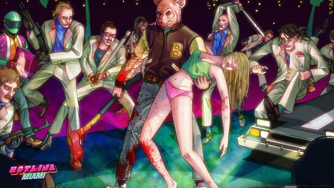 Hotline Miami Collector's Edition Vinyl available on Kickstarter now