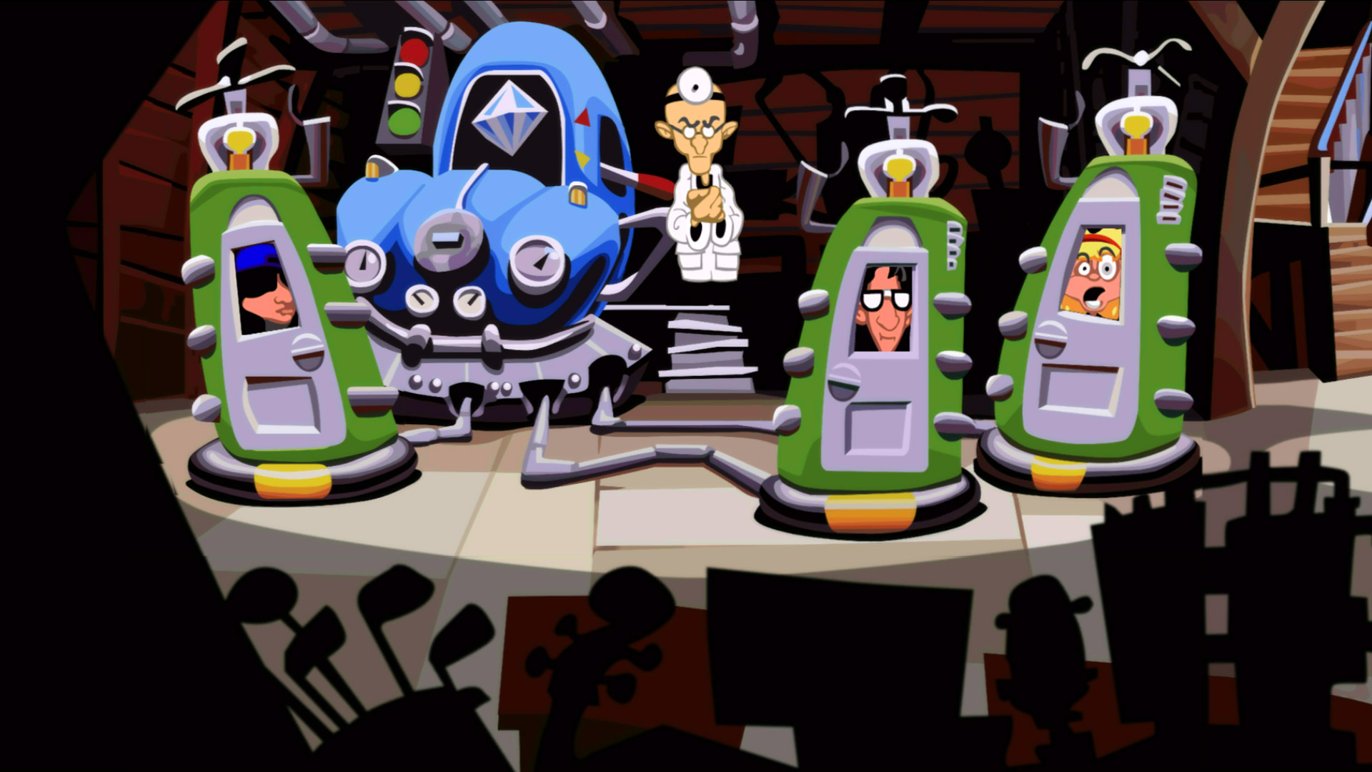 GGS Gamer One Hour Tour: Day of the Tentacle Remastered