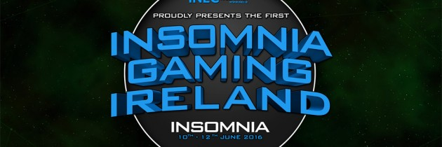 Insomnia Gaming Ireland Tickets Now Available