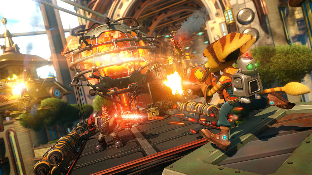 New Ratchet & Clank Trailer Explains The Game's Story