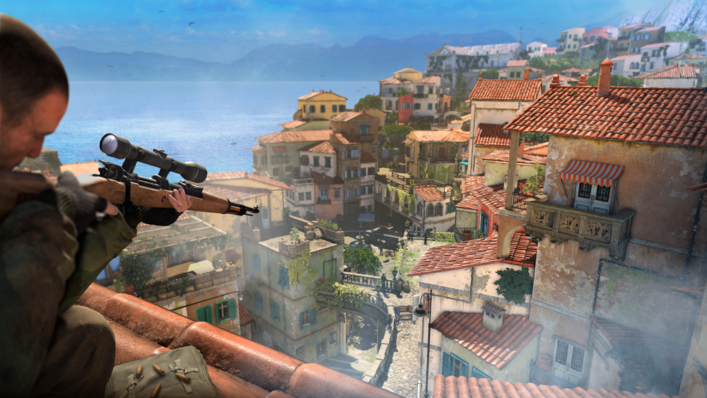 Sold Out To Publish Rebellion's Sniper Elite 4