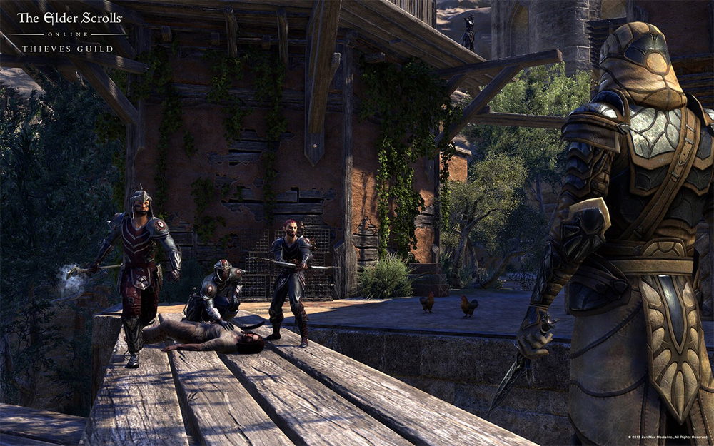 Third Add-On For The Elder Scrolls Online Is Now Available