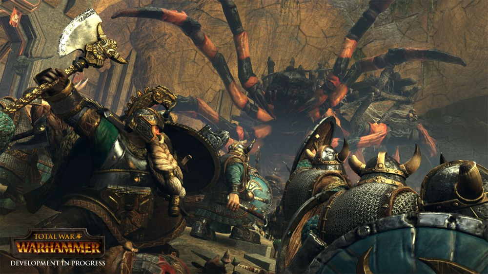 New Total War: Hammer Dwarfs Grand Campaign Gameplay