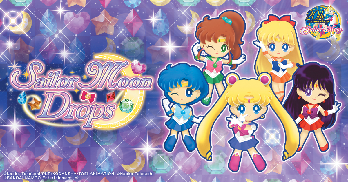 Right Wrongs and Triumph Over Evil with Sailor Moon Drops