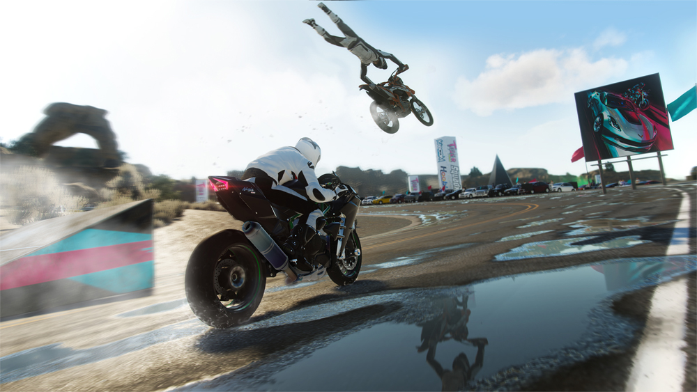 Ubisoft Brings Stunts To The Crew
