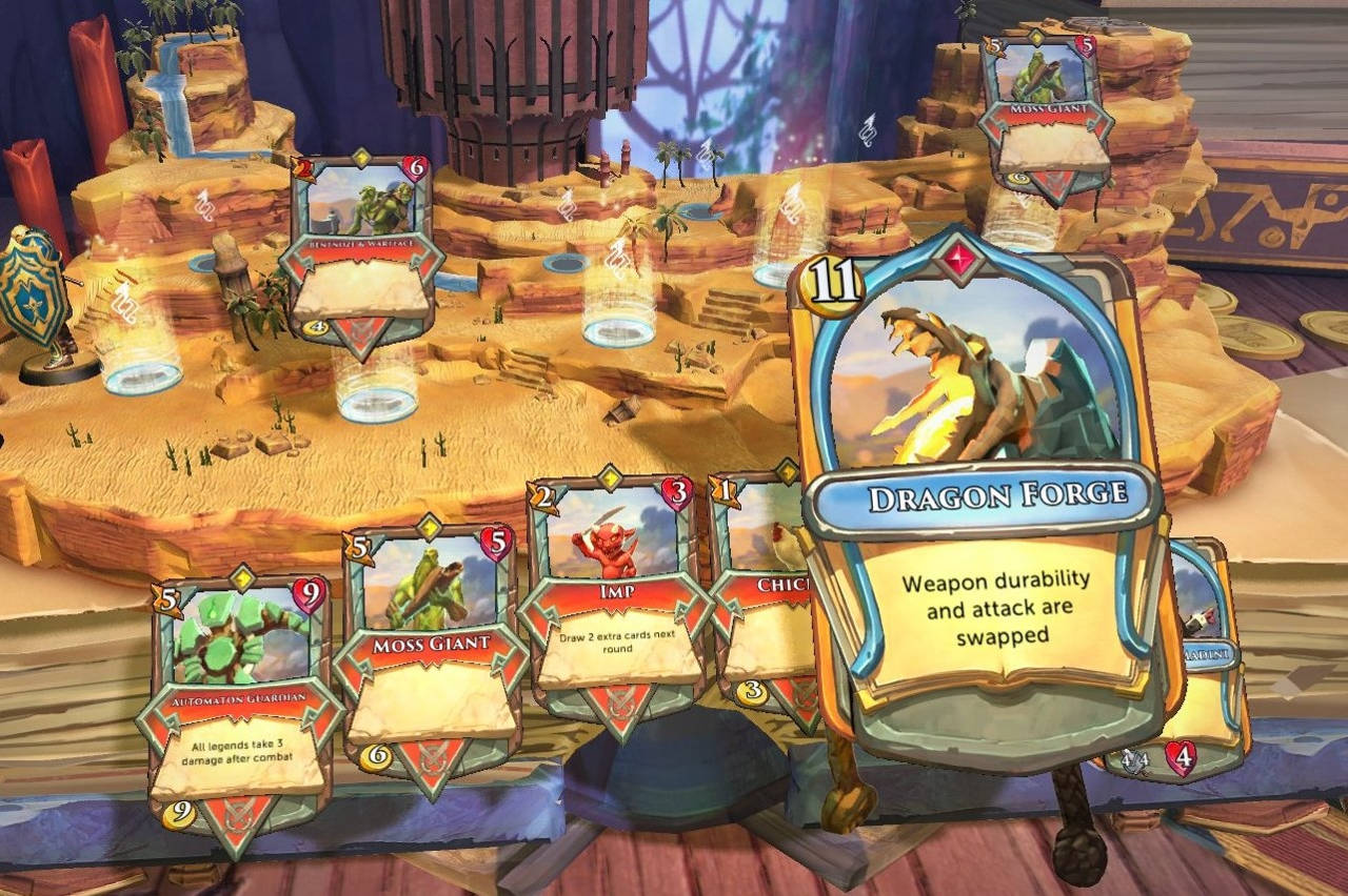Chronicle: RuneScape Legends Launch Announced and It's Free Card Packs Deal Starts Now