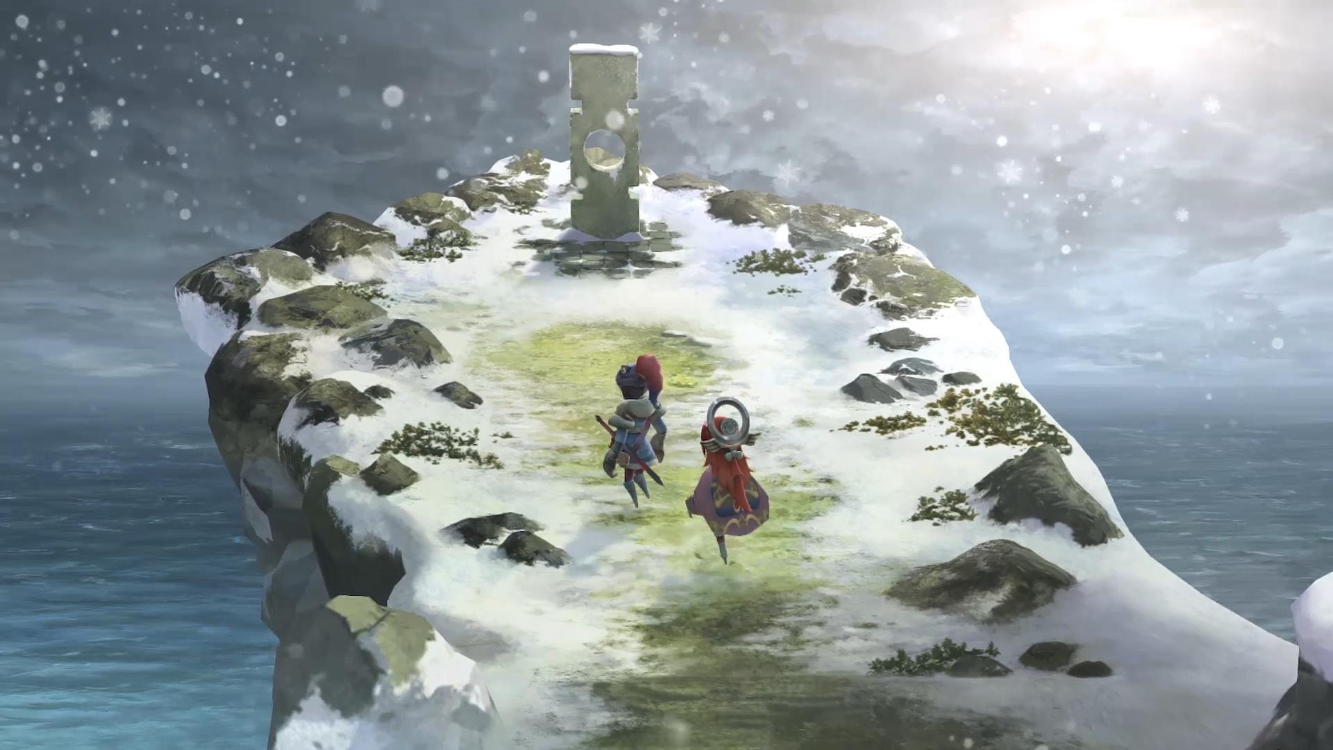 First I Am Setsuna Gameplay Trailer