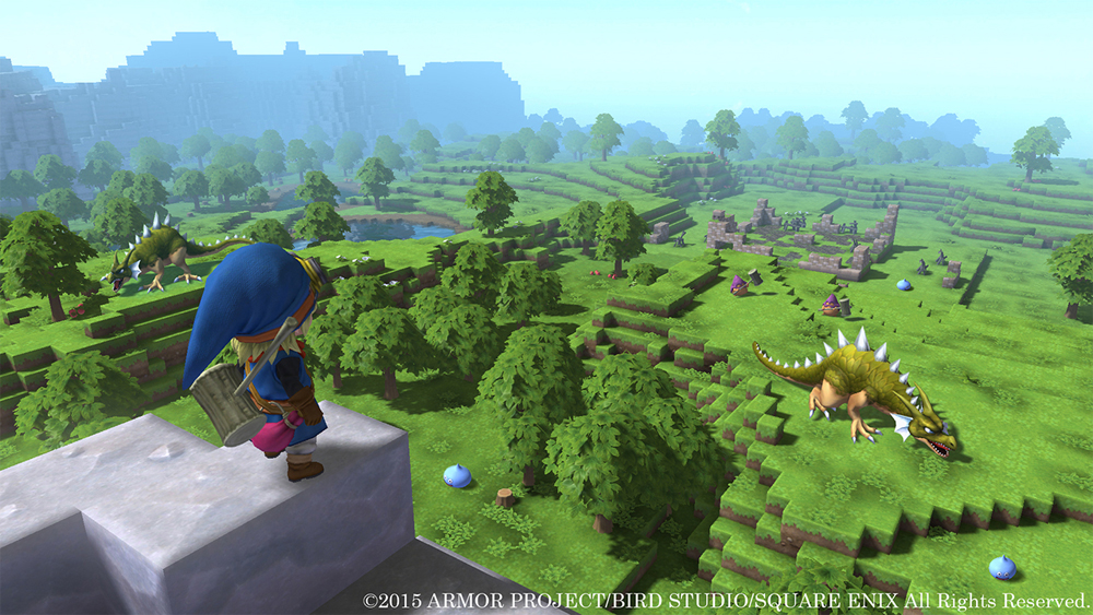 Dragon Quest Builders Demo Now Available