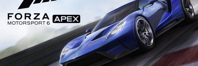 Forza Motorsport 6: Apex Open Beta Details