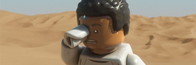 Take A Closer Look At Finn In Lego Star Wars The Force Awakens