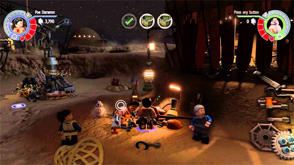 Latest Lego Star Wars The Force Awakens Trailer Showcases The Empire Strikes Back Character Pack
