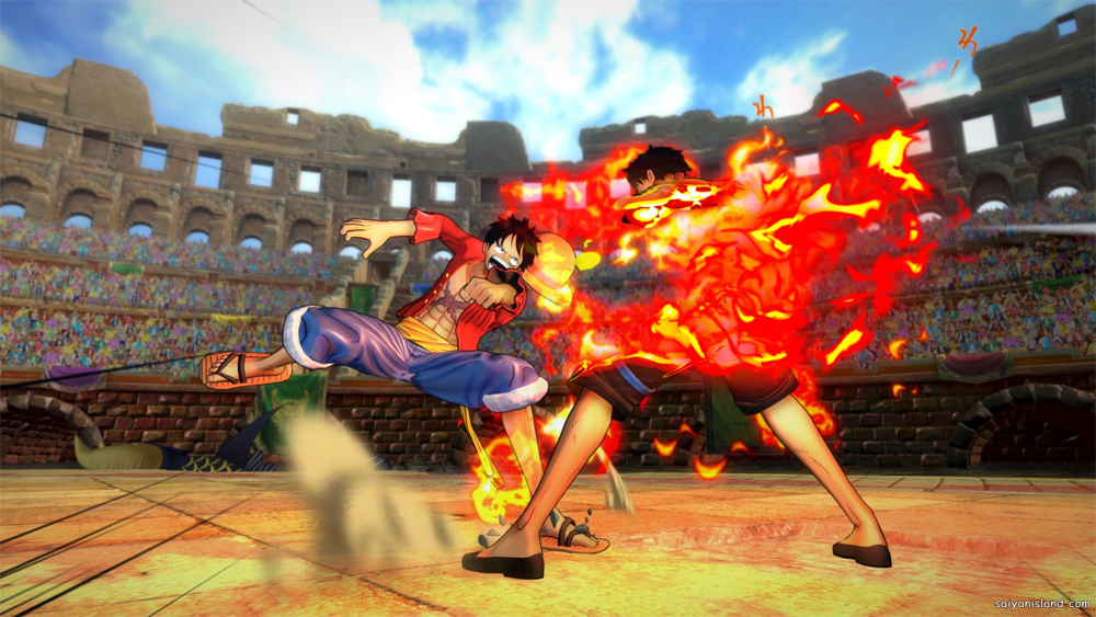 Get A Behind The Scene Look At One Piece Burning Blood