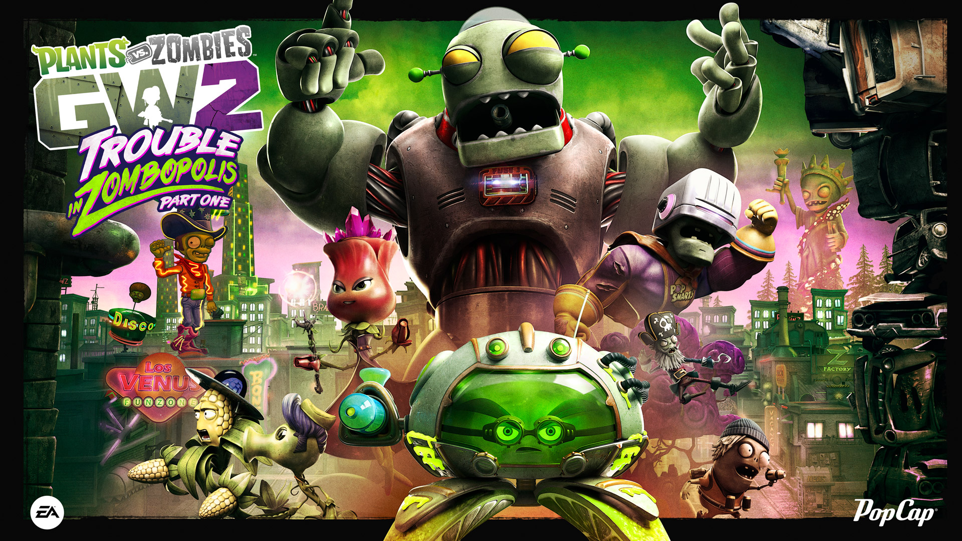 New Content Announced For Plants vs. Zombies Garden Warfare 2