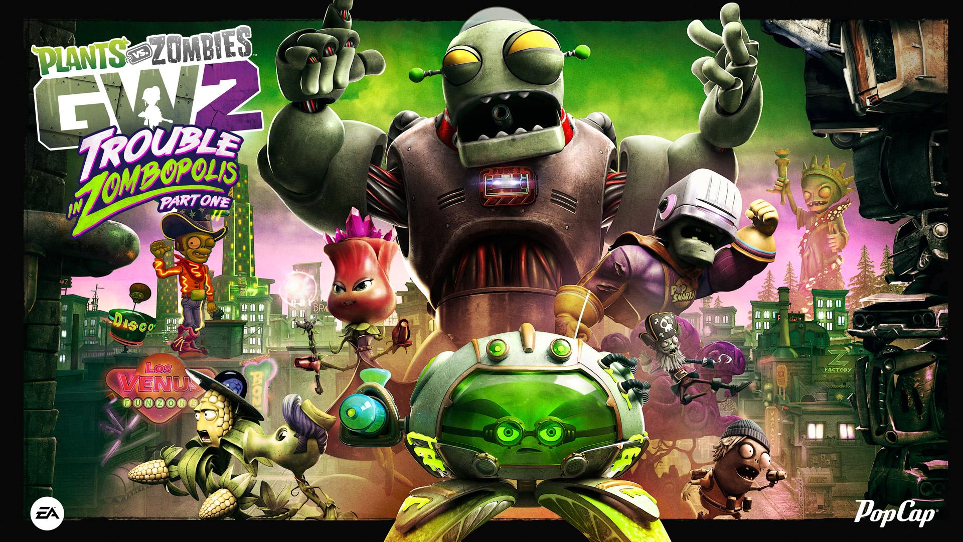 New Content Announced For Plants vs. Zombies Garden Warfare 2