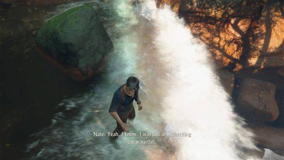 uncharted waterfall