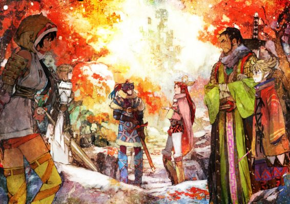 New I Am Setsuna Artwork Showcasing Beautiful Environments and Characters