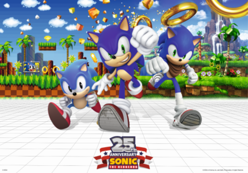 Sonic Celebrates 25 Years with Humble Bundle